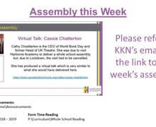 Tutor Time Announcements Week 3 2020